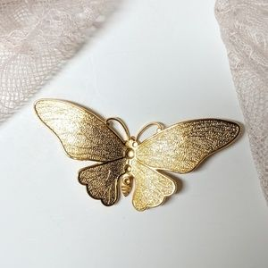 Gold Butterfly Charm, Charms, Pendants, Gifts